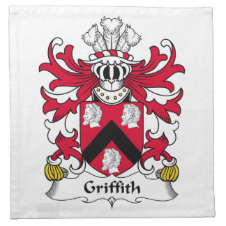 Griffith Family Crest Napkin