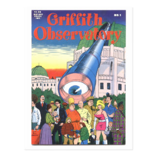 """""""Griffith Observatory"""" #1, 1979 Postcard"""