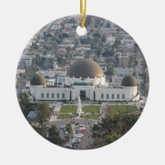 Griffith Observatory Ceramic Ornament