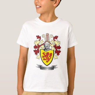 Griffiths Family Crest Coat of Arms T-Shirt