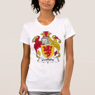 Griffiths Family Crest T Shirt