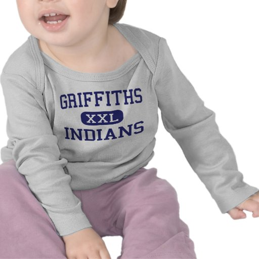 Griffiths Indians Middle Downey California Tee Shirts