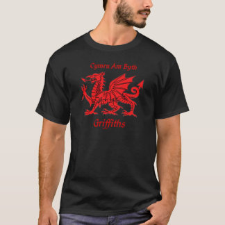 Griffiths Welsh Dragon T-Shirt