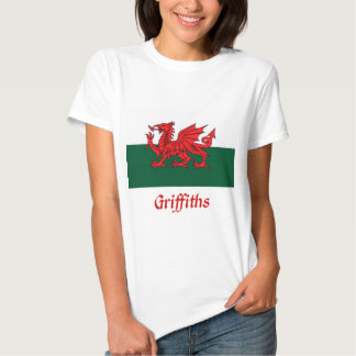 Griffiths Welsh Flag T Shirts