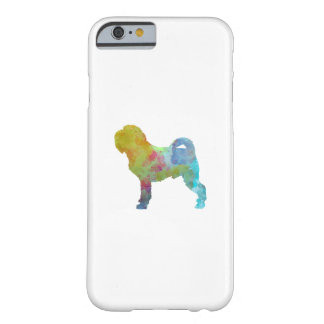 Griffon Belge in watercolor Barely There iPhone 6 Case