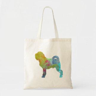 Griffon Belge in watercolor Tote Bag