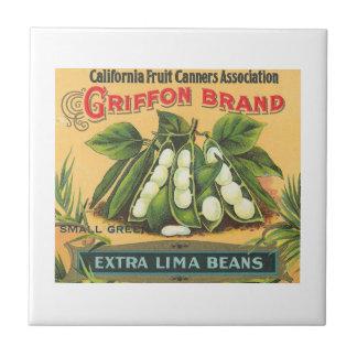 Griffon Brand Lima Beans Tile