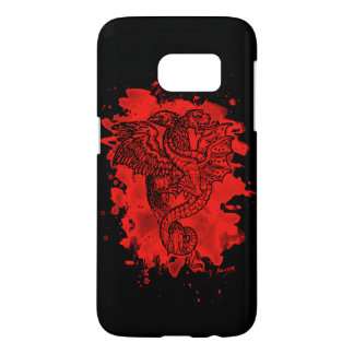 Griffon & Dragon bleached talk Samsung Galaxy S7 Case