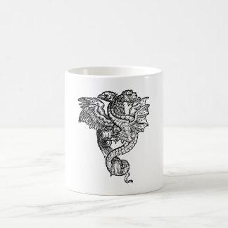 Griffon & Dragon Coffee Mug