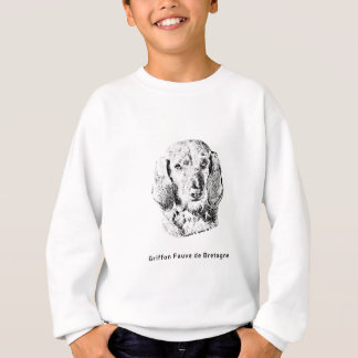 Griffon Fauve de Bretagne Drawing Sweatshirt