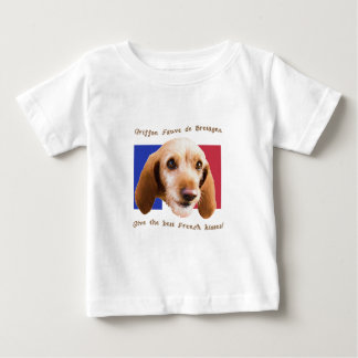 Griffon Fauve de Bretagne Give Best French Kisses Baby T-Shirt