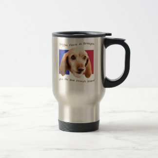 Griffon Fauve de Bretagne Give Best French Kisses Travel Mug