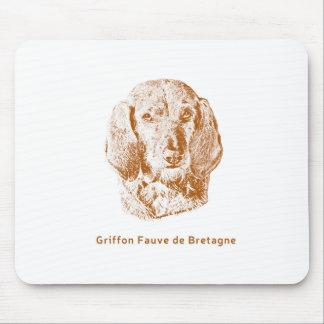 Griffon Fauve de Bretagne Mouse Pad