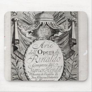 Griffon' of Rene Robert Cavelier de la Salle Mouse Pad