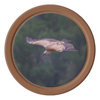Griffon vulture, France Poker Chips