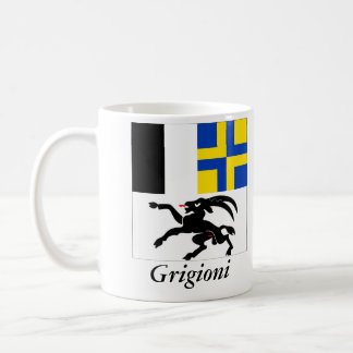 Grigioni, Svizzera Bandiera Flags Coffee Mug