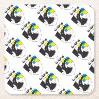 Grigioni Svizzera reductor Square Paper Coaster
