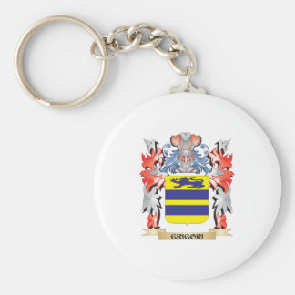 Grigori Coat of Arms - Family Crest Keychain
