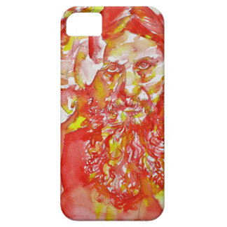 grigori rasputin - watercolor portrait.4 iPhone 5 case
