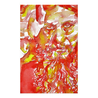 grigori rasputin - watercolor portrait.4 stationery