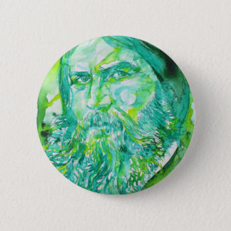 grigori rasputin - watercolor portrait.5 2 inch round button