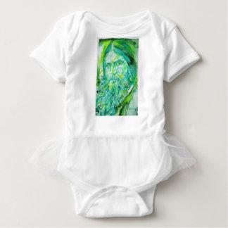 grigori rasputin - watercolor portrait.5 baby bodysuit