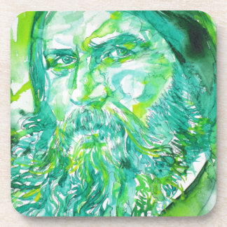 grigori rasputin - watercolor portrait.5 coaster