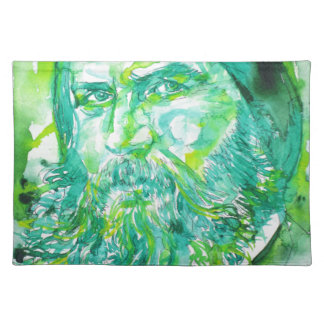 grigori rasputin - watercolor portrait.5 placemat