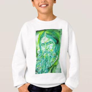 grigori rasputin - watercolor portrait.5 sweatshirt