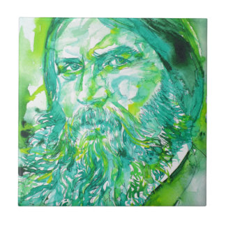 grigori rasputin - watercolor portrait.5 tile