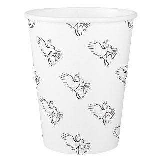 Griiffin Sitting Side Retro Paper Cup