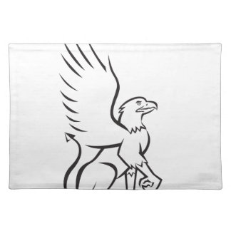 Griiffin Sitting Side Retro Placemats