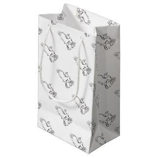 Griiffin Sitting Side Retro Small Gift Bag