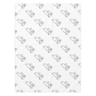 Griiffin Sitting Side Retro Tablecloth