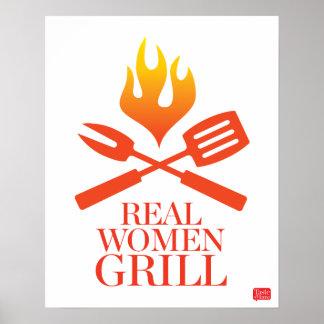 Gril de vraies femmes