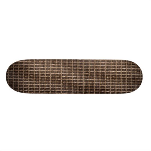 Grill cloth skateboard