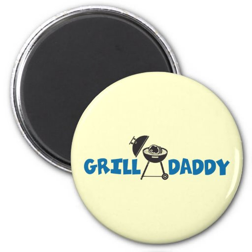 Grill Daddy Refrigerator Magnet