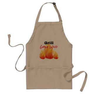 Grill Gone Wild BBQ - Standard Apron