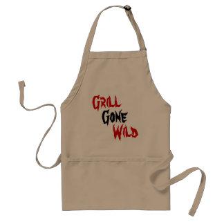 Grill Gone, Wild Standard Apron