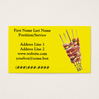 Grill House Business Card