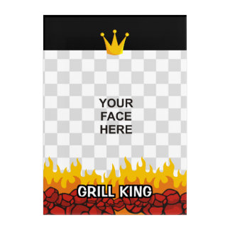 Grill King Acrylic Print