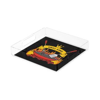 Grill King Acrylic Tray