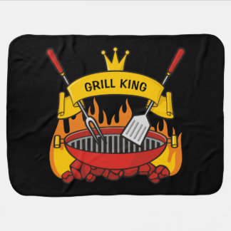 Grill King Baby Blanket