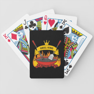 Grill King Bicycle Playing Cards