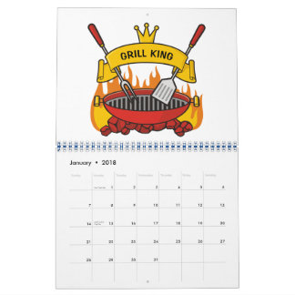 Grill King Calendars