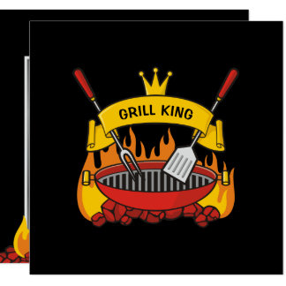 Grill King Card
