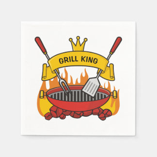 Grill King Disposable Napkin