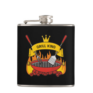 Grill King Hip Flask