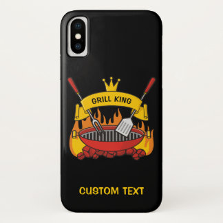 Grill King iPhone X Case