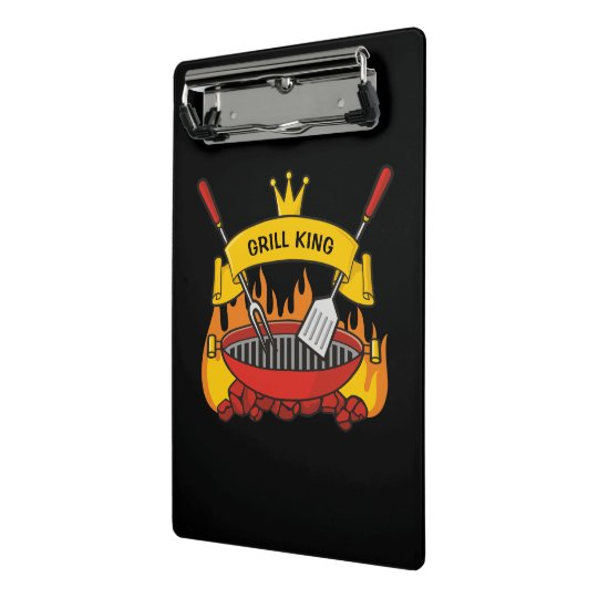 Grill King Mini Clipboard